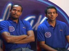 Yusuf Pathan On the sets of 'Indian Idol 5'