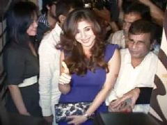 Urmila Matondkar at the launch of Areopagus spa
