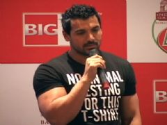 John Abraham at 'Green Humour Mimicry Hunt Asli No.1' launch