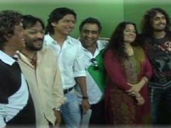 10 Top Musicians jam for Animation film Mo Mamo at Aadesh Shrivastava Studio