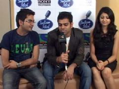 Interview with Sreeram, Rakesh Maini and Bhoomi Trivedi (Indian Idol 5)