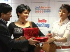 Hello Darling promotional event at Just Dial