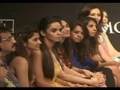 Mallika, Eesha and Diana Grace Anita Dongre'S Show At Lakme Fashion Week 2010