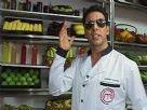Akshay Kumar on the set of Amul Master Chef India
