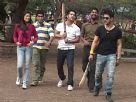 Cricket Fever On The Sets Of Khote Sikkey