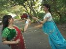 Radhika and Barkha share a merry time with Dandiya