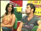 Mahie Gill and Randeep Hooda at Radio Mirchi