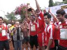 Television Celebs at Charity Soccer Match