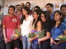 Sunny Leone at Saregama WAP Portal Contest Press Meet
