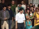 Akshara and Naitik's family bid them farewell for their trip to London