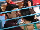 Kunal and Siddhi's romance in train