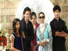 Shahrukh's Eid celebration at Mannat