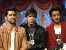 Grand Masti team on the sets of Pavitra Rishta