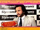 Saif Ali Khan - The New Brand Ambassador for Siyaram