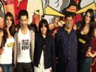Varun Dhawan Nargis Fakhri And Ileana At Main Tera Hero Trailer Launch