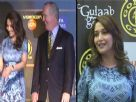 OMG! Madhuri Dixit Wears Same Dress At two Events