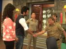 Jackky and Neha promotes Youngistan on the sets of FIR