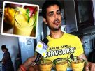 Actor Shakti Arora makes Mango milkshake