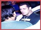 Salman Khan spotted here at Himesh's recording studio