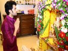 Manish Paul Feels Happy With Bappa's Presence Video