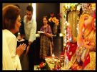Krishna Raj Kapoor visited Neil Nitin Mukesh's house for Ganpati darshan Video