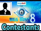 Bigg Boss Season 8 Contestants Video