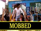 Abhi Gets Mobbed by Fans Video