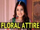 Radha Speaks About Her Floral Attire