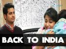 Akshara and Natik come back to India