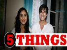 Nikita Dutta and Mohsin Khan talking about each other Video