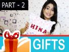 Hina Khan's special Gift Segment Part - 2 Video