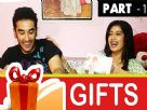 Digangana Suryavanshi and Vishal Vashishtha Gift Segment Part - 1 Video