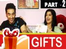 Digangana Suryavanshi and Vishal Vashishtha Gift Segment Part - 2 Video