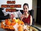 Giaa Manek celebrates Gokulashtami  with India-Forums Video