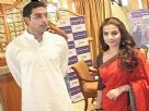 Abhishek And Vidya Promote Paa With Bajaj Allianz
