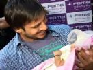 Vivek Oberoi Promotes Prince @ Fame Cinemas After the Release