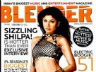 Shilpa shetty Graces The Blenders Cover Page