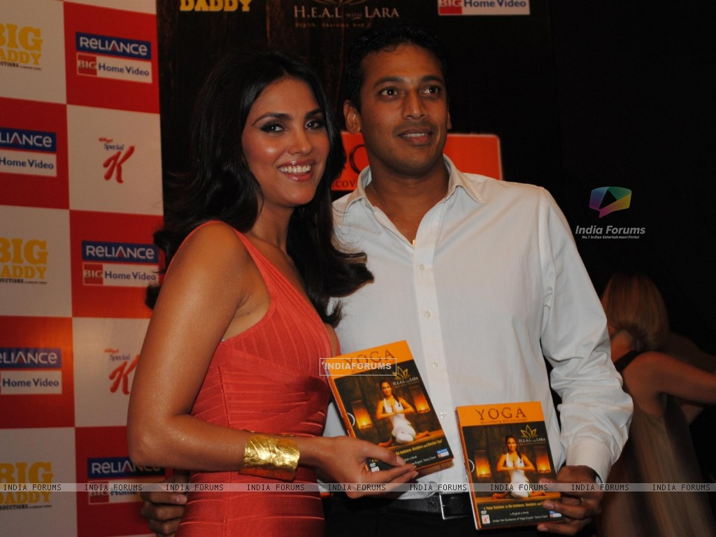 Lara Dutta's YOGA DVD Launch at Westin Hotel (107814) size:1024x768