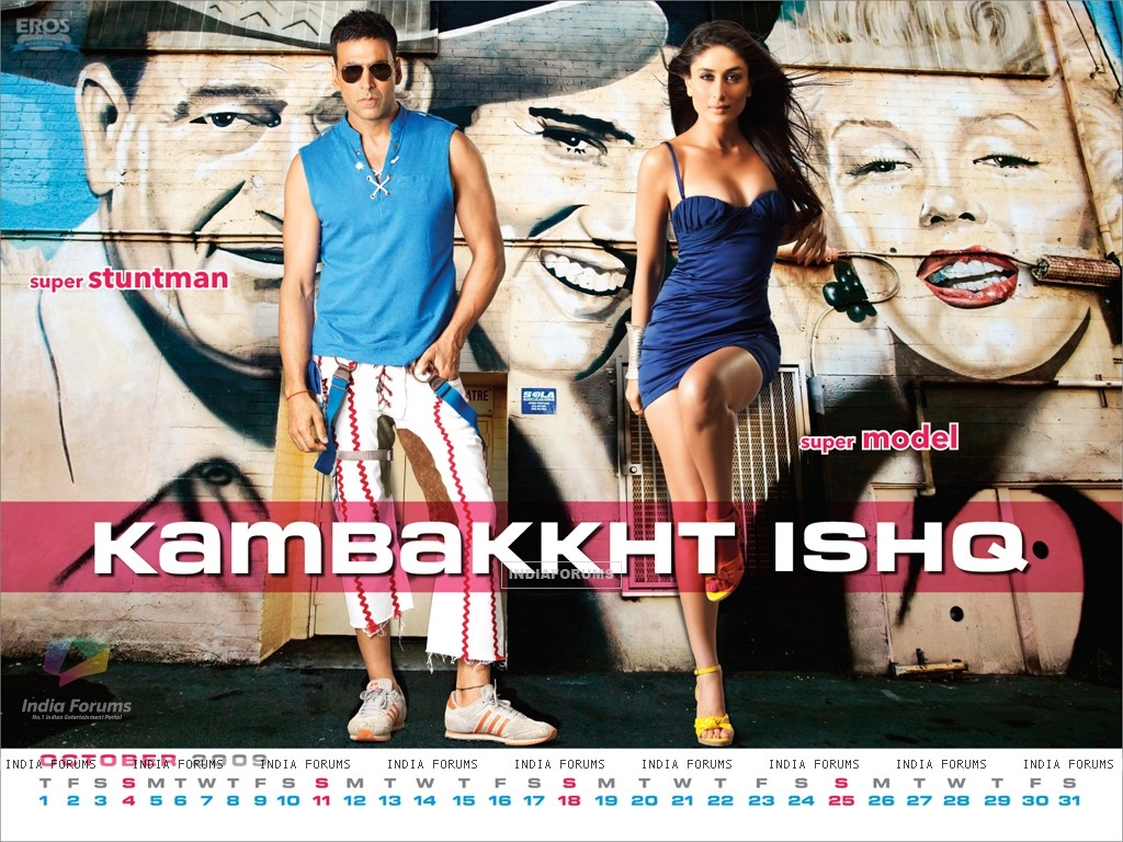 Akshay Kumar and Kareena Kapoor in Kambakth Ishq (10946) size:1024x768