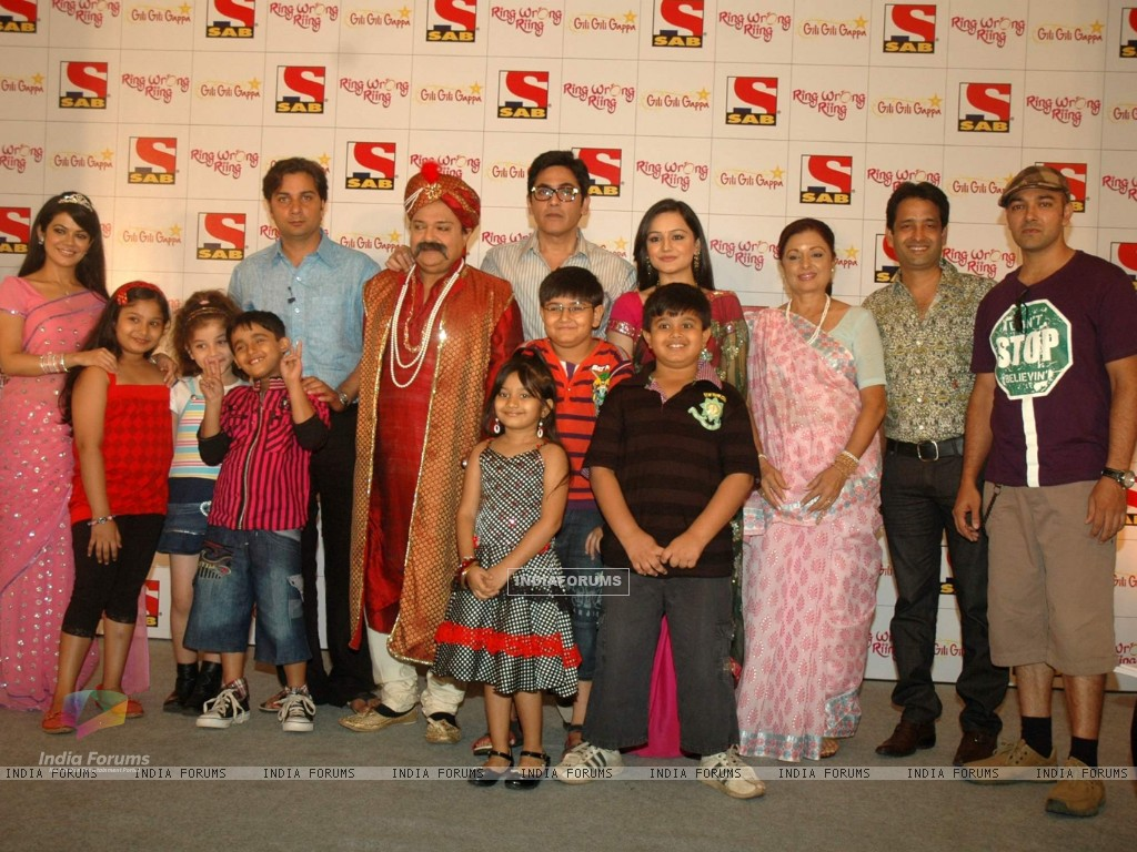 SAB TV launches two new shows Ring Wrong Ring and Gili Gili Gappa at Westin Hotel. . (111370) size:1024x768