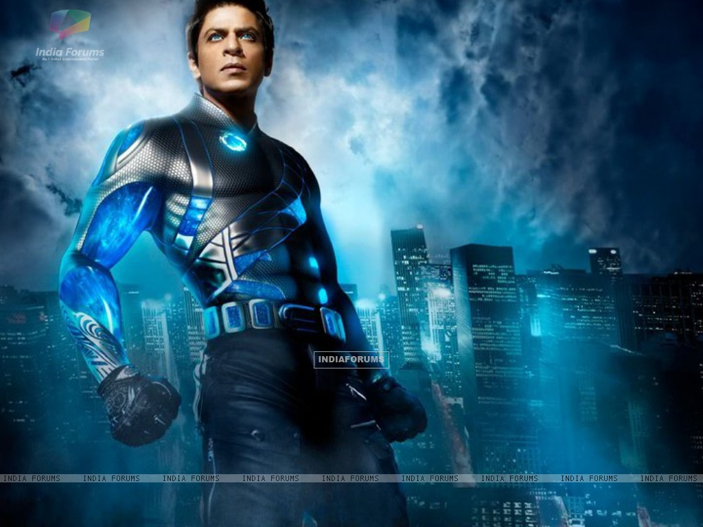 Shah Rukh look in Ra.One (150544) size:1024x768