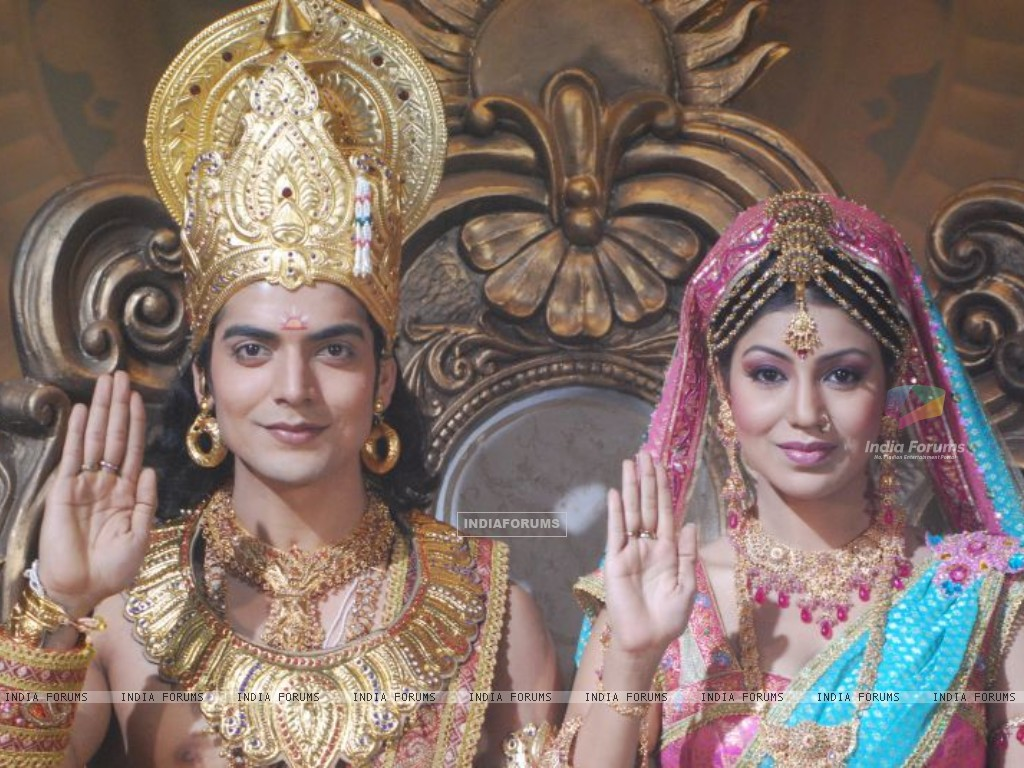 Gurmeet & Debina from NDTV Imagine's Ramayan (170597) size:1024x768