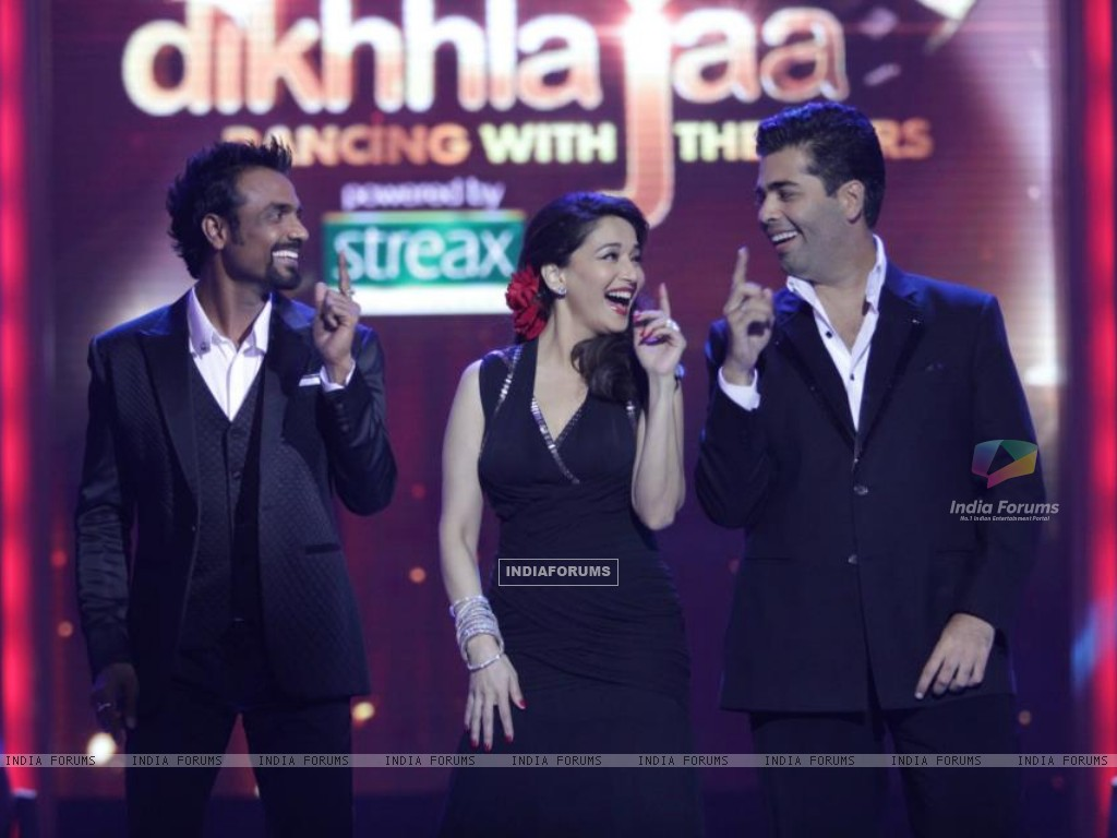 Madhuri, Karan and Remo on Jhalak (204623) size:1024x768