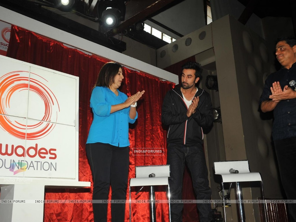 Ranbir Kapoor & Farah Khan unveiled and supported for Swades Foundation (232249) size:1024x768