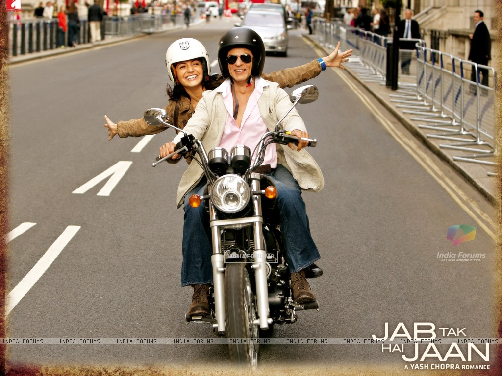 Shah Rukh Khan and Anushka Sharma in Jab Tak Hai Jaan (232797) size:1024x768