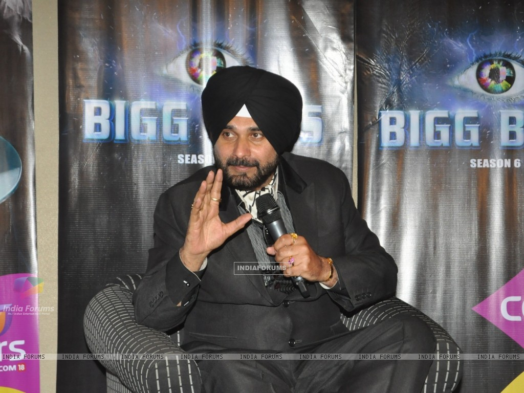 Navjot Singh Sidhu to leave Bigg Boss house press conference (239072) size:1024x768