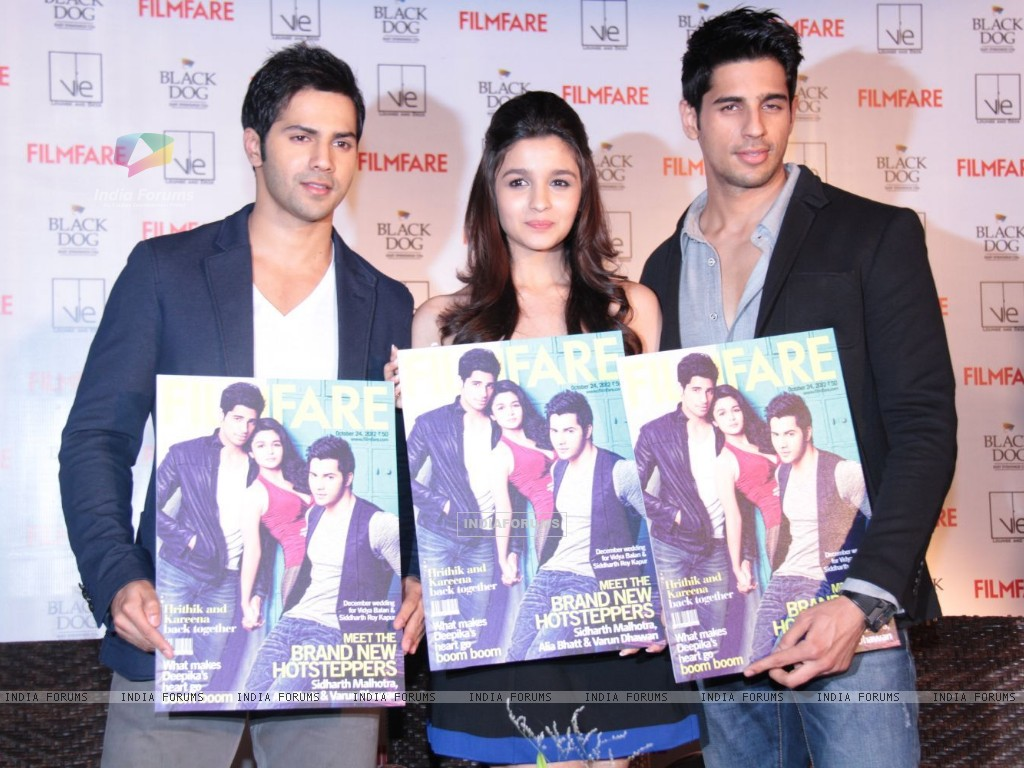 Alia, Varun and Siddharth (258681) size:1024x768