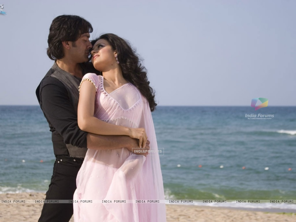Bobby and Kangna romantic scene (31484) size:1024x768