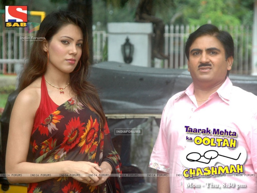 Moonmoon Banerjee and Dilip Joshi (33629) size:1024x768