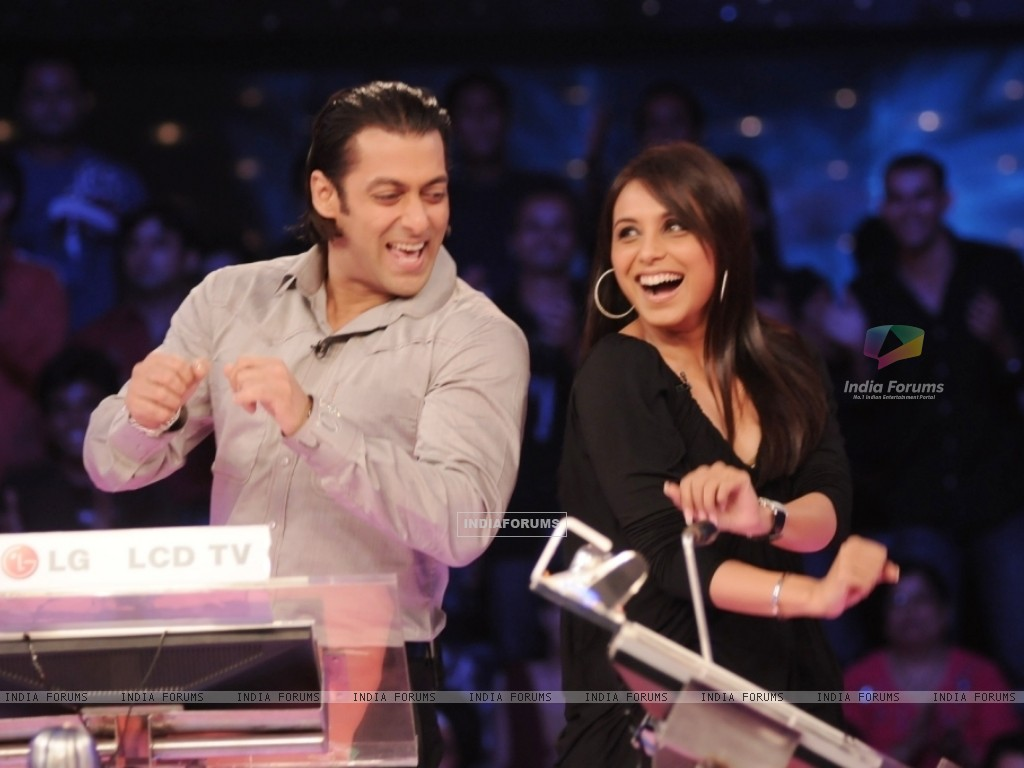 Rani Mukherjee with Salman Khan (37740) size:1024x768